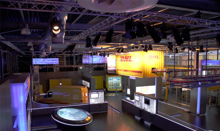 Showroom-Aktualisierung im DHL Innovation Center