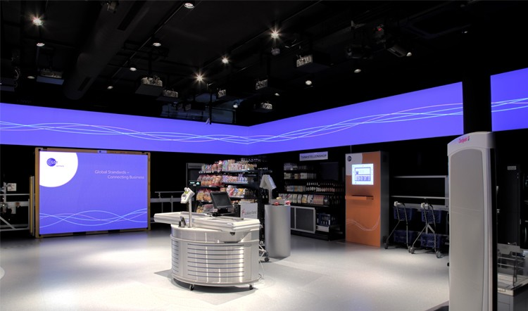 Medienproduktion für den GS1-Showroom